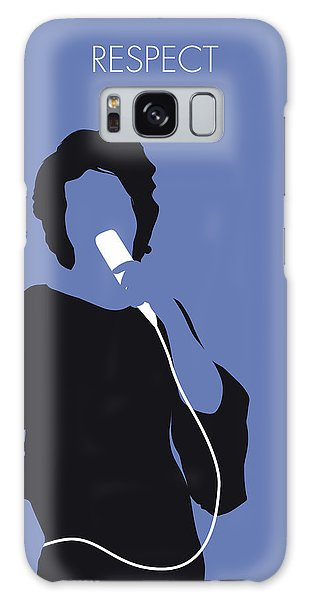 Rhythm And Blues Galaxy Case - No188 My Aretha Franklin Minimal Music Poster by Chungkong Art