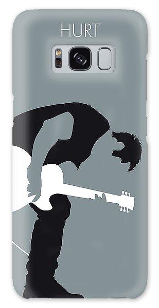 Johnny Cash Galaxy S8 Case - No197 My Nine Inch Nails Minimal Music Poster by Chungkong Art