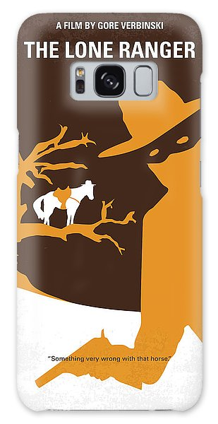 No202 My The Lone Ranger Minimal Movie Poster Galaxy S8 Case