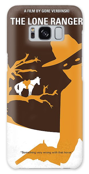 Native American Galaxy Case - No202 My The Lone Ranger Minimal Movie Poster by Chungkong Art