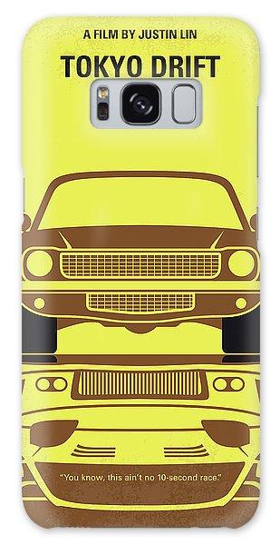 Speed Galaxy Case - No207-3 My Tokyo Drift Minimal Movie Poster by Chungkong Art