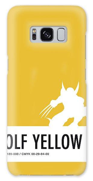 No21 My Minimal Color Code Poster Wolverine Galaxy S8 Case