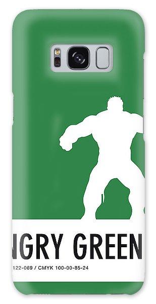 Superhero Galaxy Case - No22 My Minimal Color Code Poster Hulk by Chungkong Art