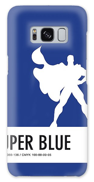 No23 My Minimal Color Code Poster Superman Galaxy S8 Case