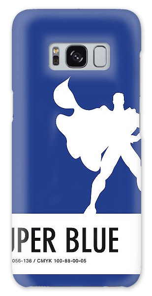 Superhero Galaxy Case - No23 My Minimal Color Code Poster Superman by Chungkong Art