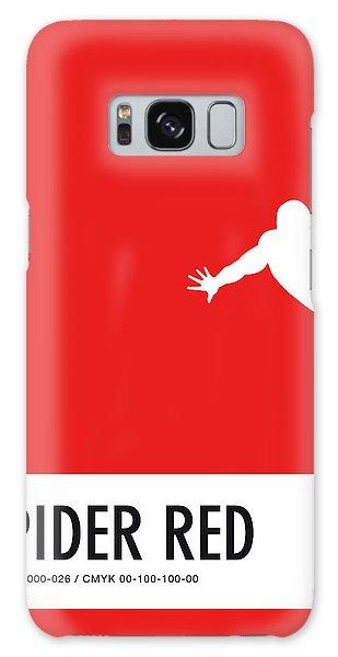 Superhero Galaxy Case - No24 My Minimal Color Code Poster Spiderman by Chungkong Art
