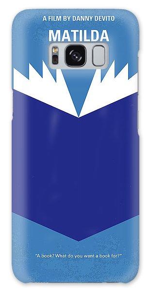 Magician Galaxy S8 Case - No291 My Matilda Minimal Movie Poster by Chungkong Art