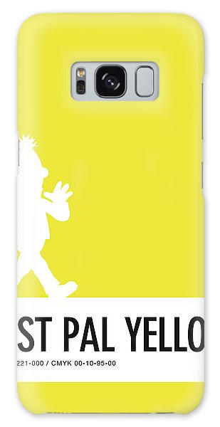 Frogs Galaxy Case - No31 My Minimal Color Code Poster Bert by Chungkong Art