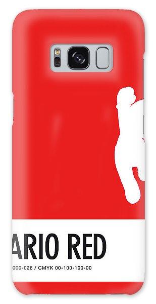 Daisy Galaxy S8 Case - No33 My Minimal Color Code Poster Mario by Chungkong Art