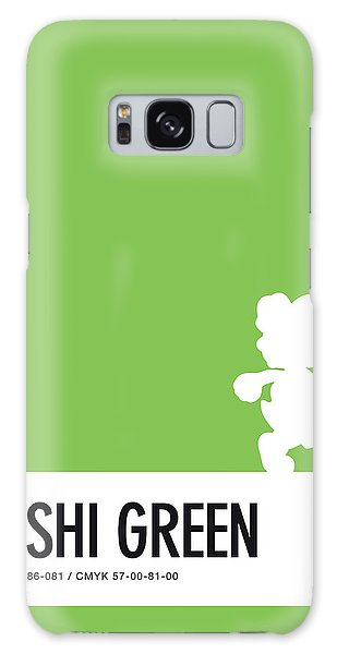 Colour Galaxy Case - No36 My Minimal Color Code Poster Yoshi by Chungkong Art