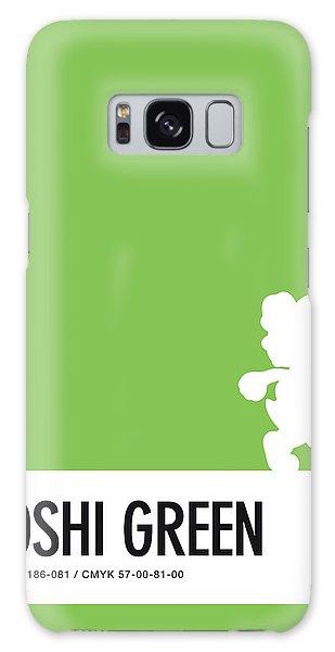 Daisy Galaxy S8 Case - No36 My Minimal Color Code Poster Yoshi by Chungkong Art