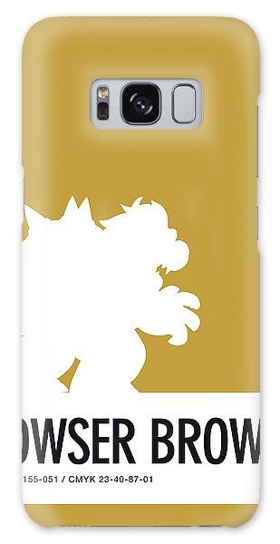 Daisy Galaxy S8 Case - No38 My Minimal Color Code Poster Bowser by Chungkong Art