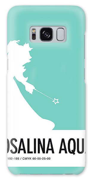 Daisy Galaxy S8 Case - No39 My Minimal Color Code Poster Rosalina by Chungkong Art