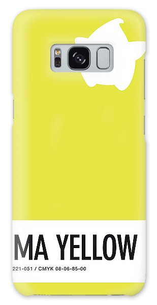 Daisy Galaxy S8 Case - No40 My Minimal Color Code Poster Luma by Chungkong Art