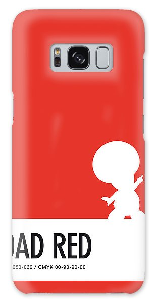 Daisy Galaxy S8 Case - No41 My Minimal Color Code Poster Toad by Chungkong Art