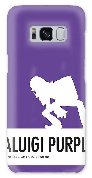 Colour Galaxy Case - No42 My Minimal Color Code Poster Waluigi by Chungkong Art