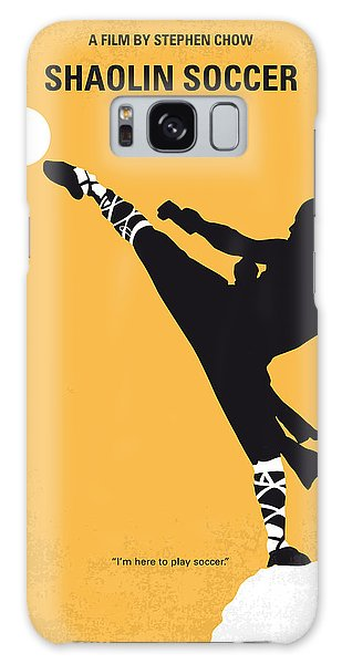 Soccer Galaxy S8 Case - No480 My Shaolin Soccer Minimal Movie Poster by Chungkong Art