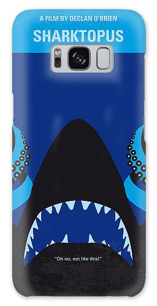 No485 My Sharktopus Minimal Movie Poster Galaxy Case