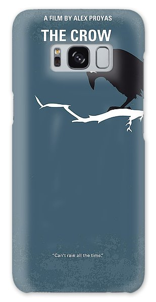 Crow Galaxy S8 Case - No488 My The Crow Minimal Movie Poster by Chungkong Art