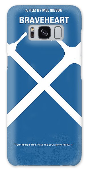Scotland Galaxy Case - No507 My Braveheart Minimal Movie Poster by Chungkong Art