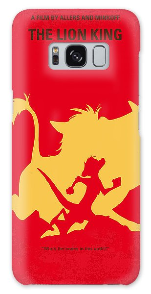 Meerkat Galaxy S8 Case - No512 My The Lion King Minimal Movie Poster by Chungkong Art