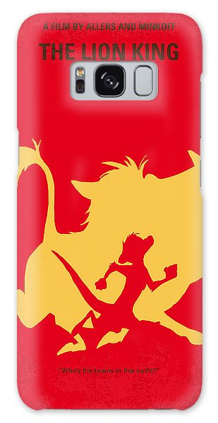 Lion Galaxy Case - No512 My The Lion King Minimal Movie Poster by Chungkong Art