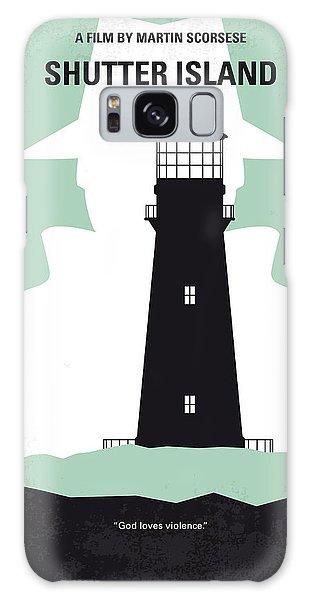 Style Galaxy Case - No513 My Shutter Island Minimal Movie Poster by Chungkong Art