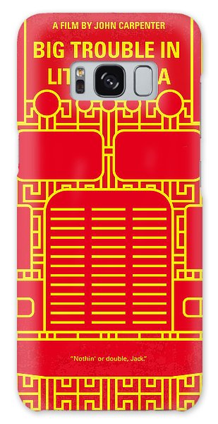 Truck Galaxy S8 Case - No515 My Big Trouble In Little China Minimal Movie Poster by Chungkong Art