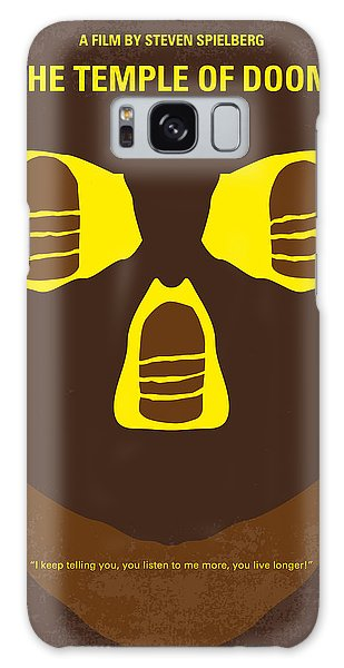 Temple Galaxy Case - No517 My The Temple Of Doom Minimal Movie Poster by Chungkong Art