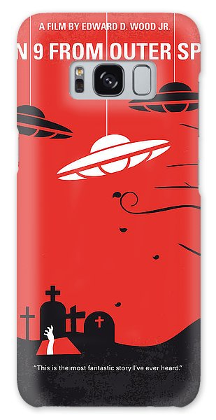 Outer Space Galaxy Case - No518 My Plan 9 From Outer Space Minimal Movie Poster by Chungkong Art