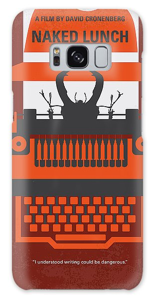 Style Galaxy Case - No534 My Naked Lunch Minimal Movie Poster by Chungkong Art