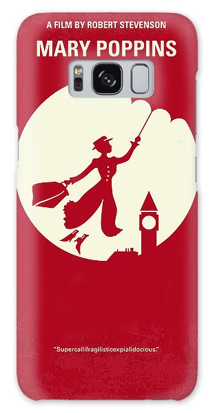 London Galaxy S8 Case - No539 My Mary Poppins Minimal Movie Poster by Chungkong Art