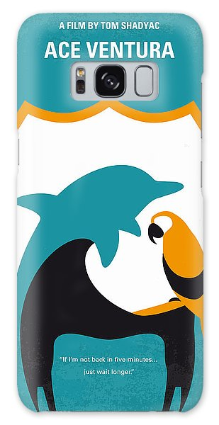 Dolphin Galaxy Case - No558 My Ace Ventura Minimal Movie Poster by Chungkong Art