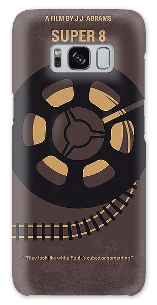 Truck Galaxy S8 Case - No578 My Super 8 Minimal Movie Poster by Chungkong Art