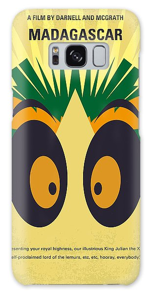 Penguin Galaxy Case - No589 My Madagascar Minimal Movie Poster by Chungkong Art