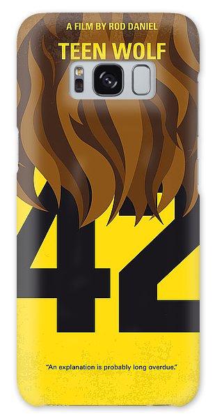 School Galaxy Case - No607 My Teen Wolf Minimal Movie Poster by Chungkong Art