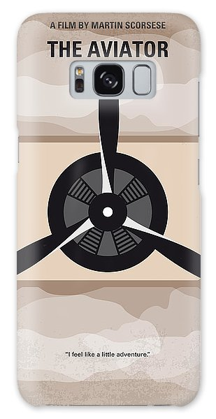 Airplane Galaxy S8 Case - No618 My The Aviator Minimal Movie Poster by Chungkong Art