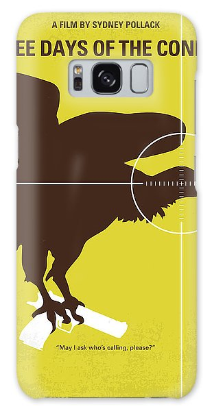No659 My Three Days Of The Condor Minimal Movie Poster Galaxy Case by Chungkong Art