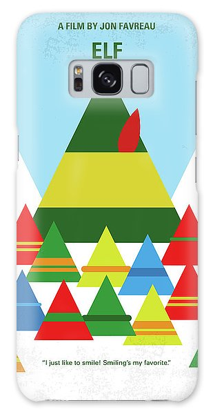 Santa Claus Galaxy Case - No699 My Elf Minimal Movie Poster by Chungkong Art