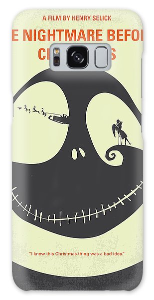 Pumpkin Galaxy Case - No712 My The Nightmare Before Christmas Minimal Movie Poster by Chungkong Art