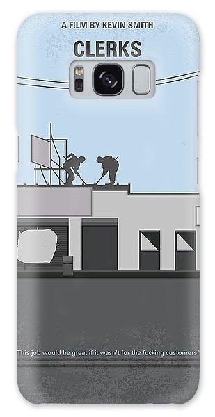 Hockey Galaxy Case - No715 My Clerks Minimal Movie Poster by Chungkong Art