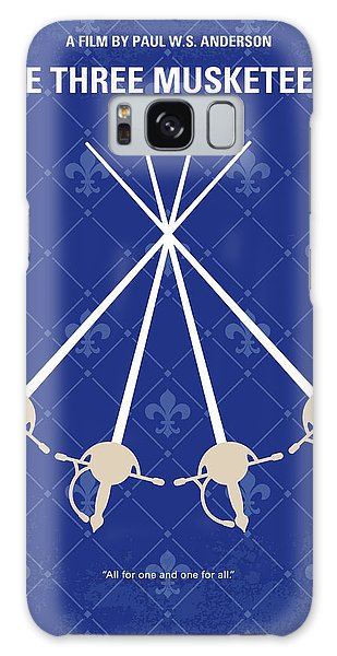 Cardinal Galaxy Case - No724 My The Three Musketeers Minimal Movie Poster by Chungkong Art