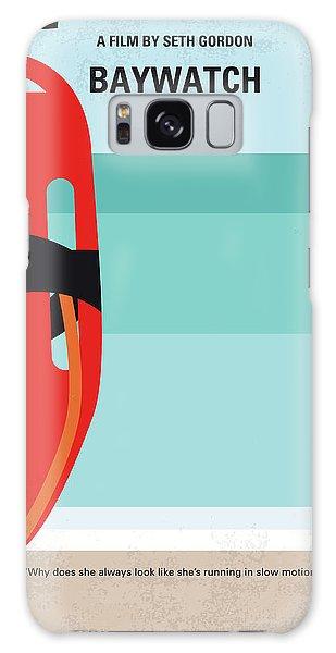 Swimming Galaxy Case - No730 My Baywatch Minimal Movie Poster by Chungkong Art
