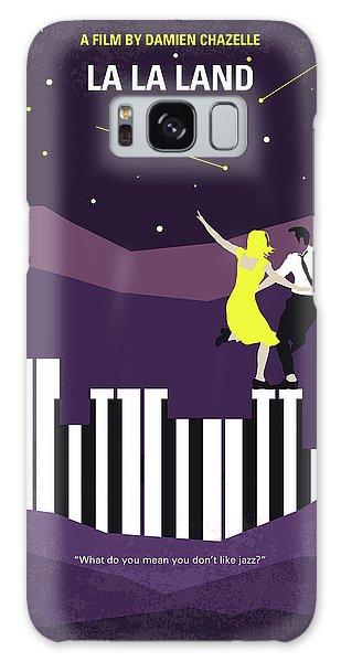 No756 My La La Land Minimal Movie Poster Galaxy Case by Chungkong Art