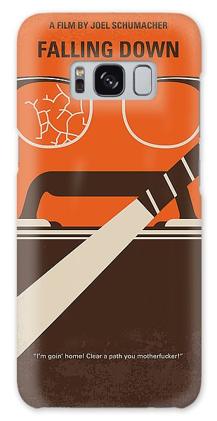 Baseball Bats Galaxy S8 Case - No768 My Falling Down Minimal Movie Poster by Chungkong Art