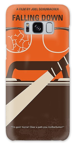 Weapons Galaxy Case - No768 My Falling Down Minimal Movie Poster by Chungkong Art