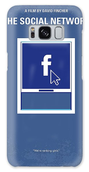 Cause Galaxy Case - No779 My The Social Network Minimal Movie Poster by Chungkong Art