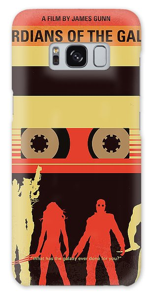 Galaxy Galaxy Case - No812 My Guardians Of The Galaxy Minimal Movie Poster by Chungkong Art