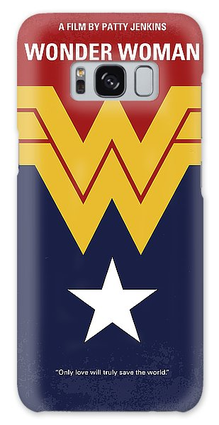 Superhero Galaxy Case - No825 My Wonder Woman Minimal Movie Poster by Chungkong Art