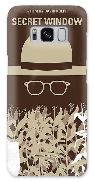 No830 My Secret Window Minimal Movie Poster Galaxy Case